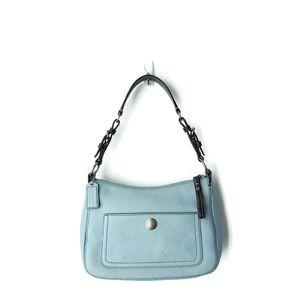 Coach Chelsea 8E99 Powder Blue leather bag $268